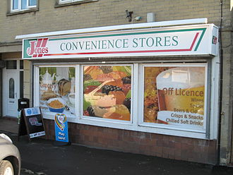 L&F Jones - A Jones convenience shop in Westfield, Somerset