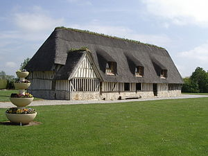 Architecture of Normandy - Former presshouse in pays d'Ouche