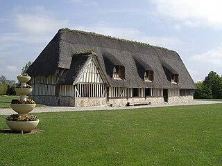 Les Jonquerets-de-Livet Part of Mesnil-en-Ouche in Normandy, France