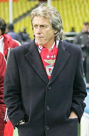 Jorge Jesus - Jesus as Benfica coach in 2013