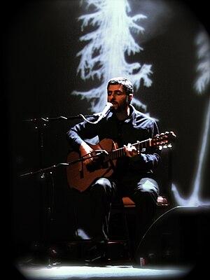 José González (singer) - José González performing at O2 Shepherds Bush Empire in London, UK, April 2008