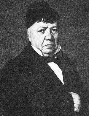 José de la Guerra y Noriega - José de la Guerra. Portrait by Leonardo Barbieri (c.1856)