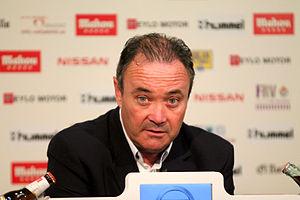 Juan Ignacio Martínez - Martínez during a press conference in 2013