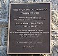 Judge Richard Daronco Plaque 2012.jpg