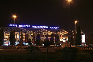 Julius Nyerere International Airport - Image: Julius Nyerere International Airport