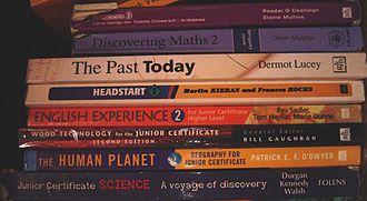 Junior Certificate - Some Junior Certificate course books