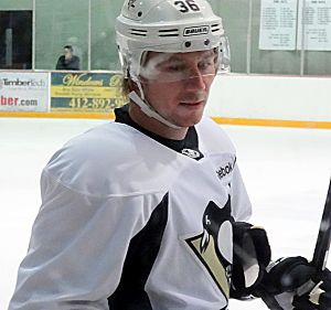 2012–13 Pittsburgh Penguins season - Jussi Jokinen made his Penguin debut on March 5, 2013 scoring the game-tying and game-winning goals.