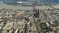 Köln Dom Altstadt Luftbild - cologne aerial (25352304055).jpg