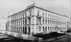 Agricultural University of Berlin - Building of the Royal Agricultural University of Berlin in the Invalidenstraße