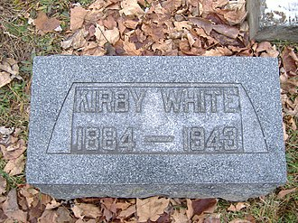 Kirby White - Image: K. White
