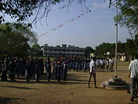 KALLAPPULIYUR HIGH SCHOOL MORNING PRIER.JPG