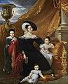 KINSON Portrait of Céline Chagot de Fays, Marchioness Amelot de Chaillou, with her Children.jpg