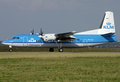 KLM Cityhopper Fokker 50 PH-LXJ AMS 2006-8-5.png