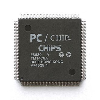 Chips and Technologies - The F8680 is a x86 compatible SoC.