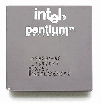P5 (microarchitecture) - Image: KL Intel Pentium P5