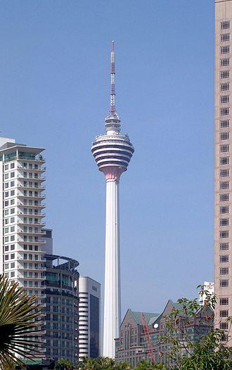 Kuala Lumpur Tower - Kuala Lumpur Tower In February 2005