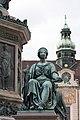 Kaiser Franz-Denkmal Hofburg Wien 2015 Sitzfiguren Friede 1.jpg
