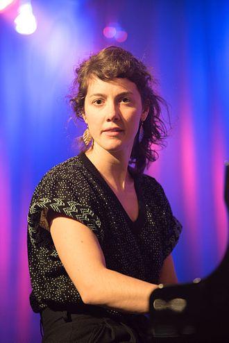 Kaja Draksler - Kaja Draksler at the 2016 Moers Festival.
