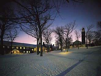 Kalamazoo College - Hicks Center and Stetson Chapel