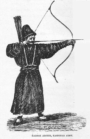 Яркендский стрелок из армии