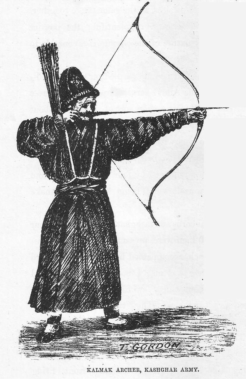 Kalmak archer