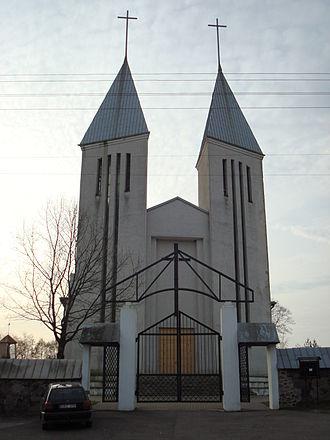 Kaltinėnai - St. John the Baptist church