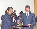 Kamal Nath and the Minister of Economic Development and Trade of Russian Federation.jpg