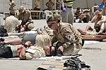 Kandahar Airfield holds mass casualty exercise DVIDS419338.jpg