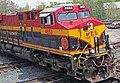 Kansas City Southern Railway - 4853 diesel locomotive (Marion, Ohio, USA) 1 (42318749975).jpg