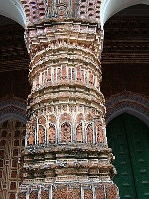 Kantajew Temple - Image: Kantaji Temple Dinajpur Bangladesh (21)