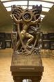 Kapitär i tavelgalleriet. Kristus i dödsriket - Hallwylska museet - 106919.tif