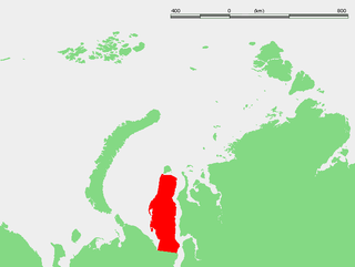peninsula in northwest Siberia