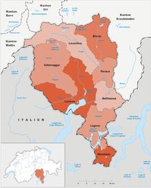 Districts of Switzerland Wikipedia
