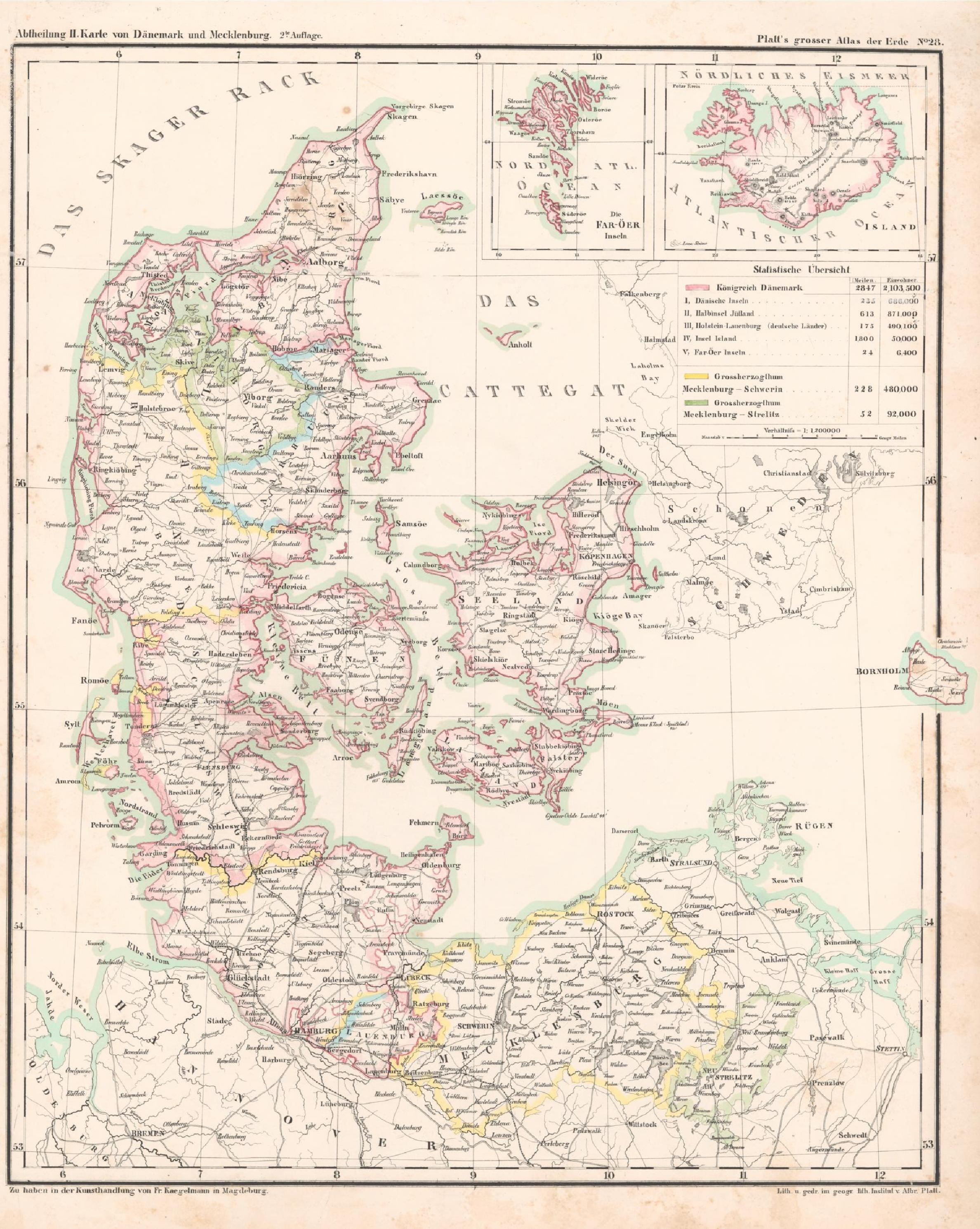 dänemark karte pdf File:Karte von Dänemark und Mecklenburg Platt 1848.pdf   Wikimedia