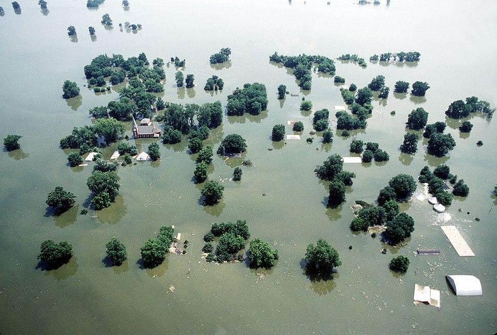 Kaskaskia Island 1993 flooding