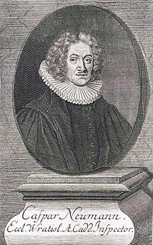 Caspar Neumann (Quelle: Wikimedia)