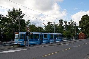 Ekeberg Line - SL79 tram at Kastellet