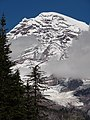 Kautz Glacier and Point Success from Kautz Creek crossing on Wonderland. (b97d121030364267a9f3788204ff8202).JPG