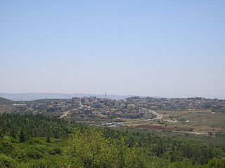 Kaukab Abu al-Hija Place in Israel