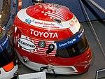 Kazuki Nakajima helmet 2017 Williams Conference Centre.jpg