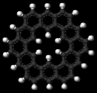 Circulene - Image: Kekulene 3D balls