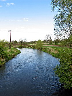 Kennet River from the Padworth Bridge - geograph.org.uk - 5954.jpg