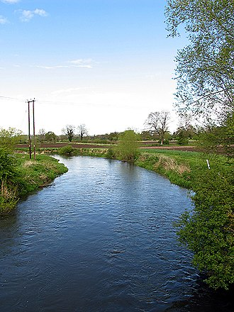 Padworth - Image: Kennet River from the Padworth Bridge geograph.org.uk 5954