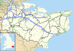 Dover is located in Kent