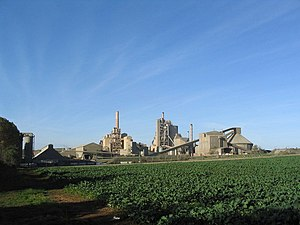 Ketton Cement Works - Ketton cement works
