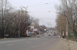 Khoroshyovsky District - Khoroshovskoye chaussée (highway), Khoroshyovsky District