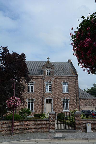 Pastorie, breedhuis dubbelhuistype, Kiezelweg 103, Schulen