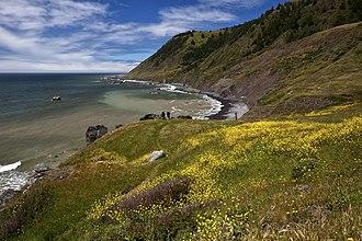 King Range (California) - Image: King Range National Conservation Area (18807554259)