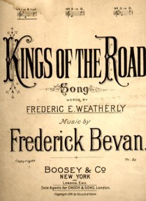 1891 in music - Image: Kings Of The Road 1891