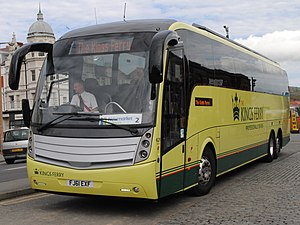 Volvo B13R - The Kings Ferry Caetano Levante bodied B13R in Llandudno in May 2013